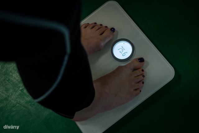 A Fitbit mérlege nem mutat annyi adatot.