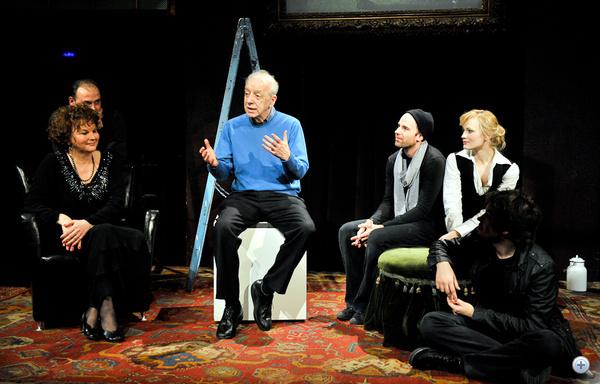 Beszélgetés a sajtófőpróba után: Szirtes Tamás igazgató és a színészek