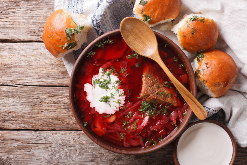 Egészséges és finom: így készül a borscs, azaz az orosz céklaleves