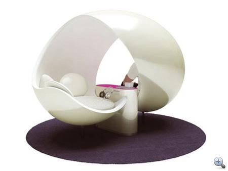Egy másik hasonló példa: Ice Lounge, tervezte Claudio Colucci - kattintson!
