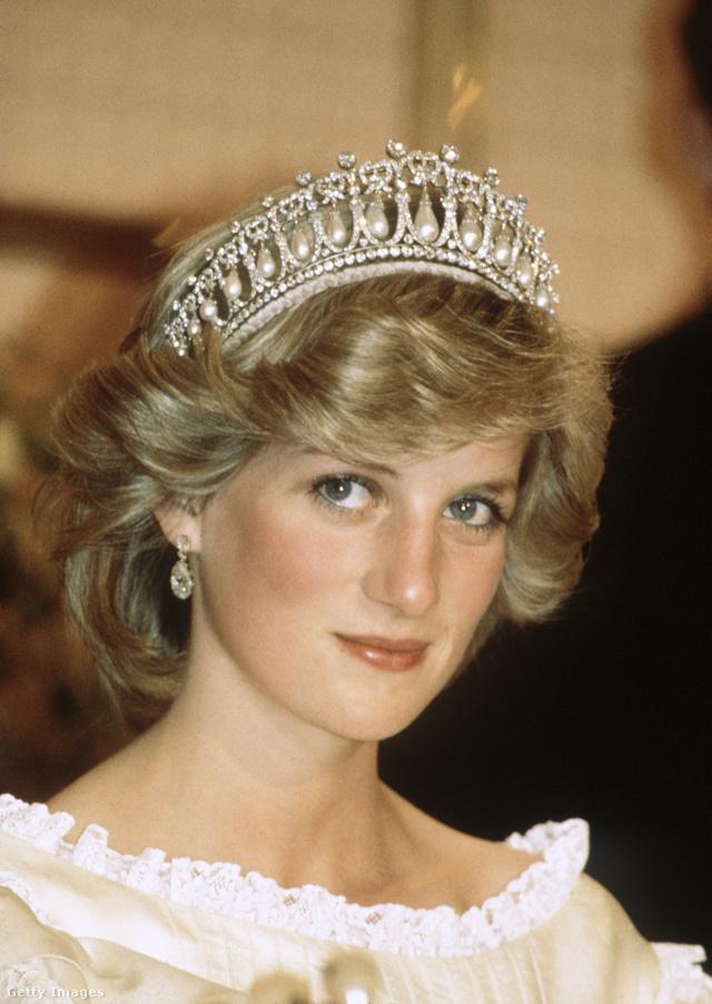 Diana hercegnő egyik kedvence volt a Cambridge tiara.