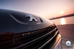 Annyira tetszik az apró Peugeot-felirat!