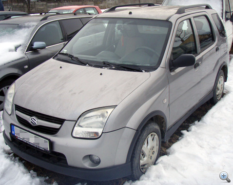 Romaniaban megtalalt Suzuki Ignis NAKE8 101