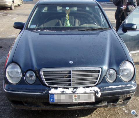 Megtalalt csalasos Mercedes Romaniaban NAKE8 100
