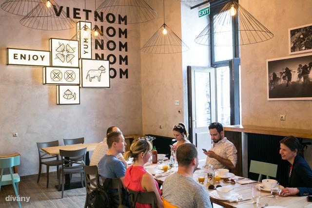 Az irodisták kérték, Simi pedig csinált egy olyan Vin.Vin éttermet, ahol rendesen le tudnak ülni, és meg tudnak vacsorázni.