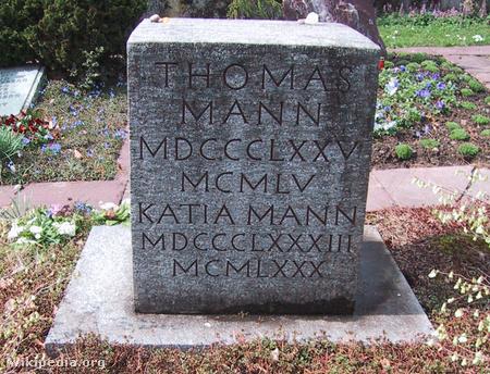 Thomas Mann sírja