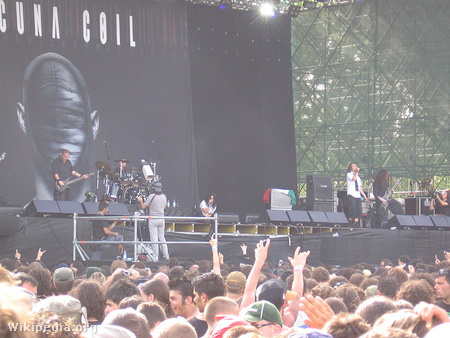 Lacuna Coil-koncert