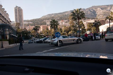 Hol kell parkolni az SLS-sel?