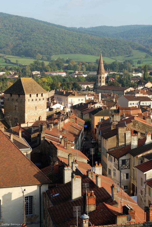A cluny apátság                         A Franciaorszég keleti részén található tizedik századi bencés rendi kolostor az európai kulturális örökség első helyszíne.