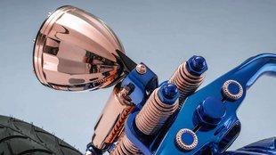 Különös Harley a világ egyik legdrágább motorja