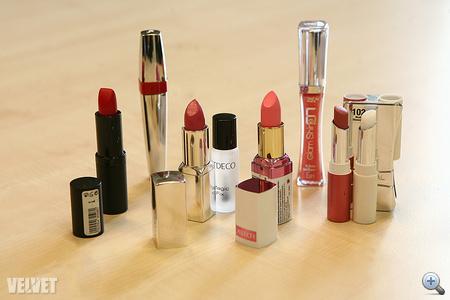 A versenyzők, balról jobbra: Manhattan, Lancome, Artdeco, Astor, L'Oréal és L'Oréal.