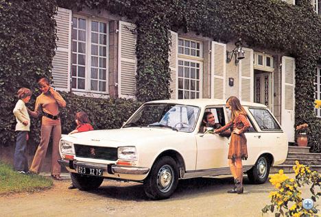 A hetvenes években az 504-es számított jobb autónak