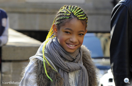 Willow Smith 2011. március 19-én