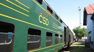 Egy görlitzi emeletes vonat közelről