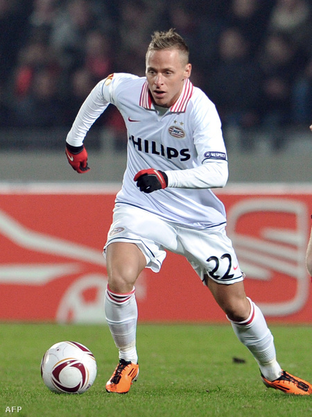 Dzsudzsák a Lille-PSV Eindhoven meccsen