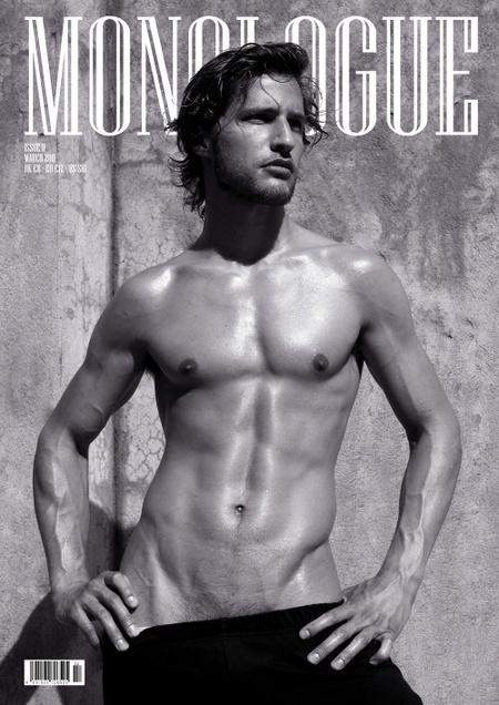 Monologue magazin - modell: Giorgos Tsetis, fotós: Brian Jankic
