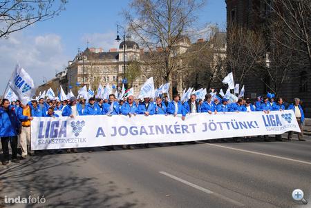 A tüntetés képei az Indafotón (fotó: anna schwelung)