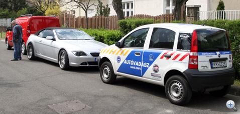 Megtalalt lopott BMW 110415 Vezda103