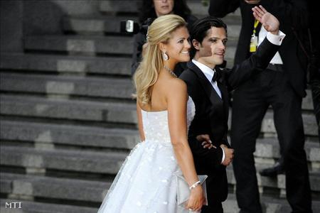 Madeleine svéd hercegnő, Hälsingland és Gästrikland hercegnője és Károly Fülöp svéd királyi herceg
