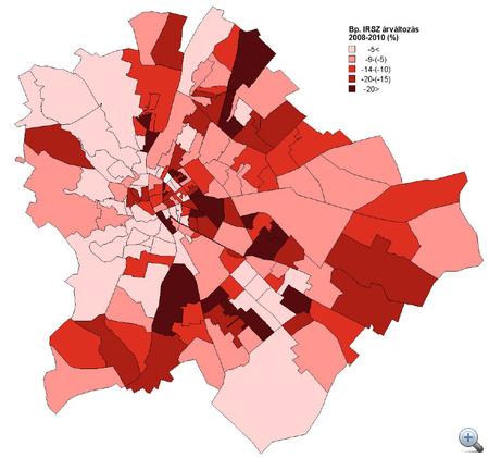 debrecen irányítószám térkép Index   Gazdaság   Józsefváros legyőzte a gazdasági válságot debrecen irányítószám térkép
