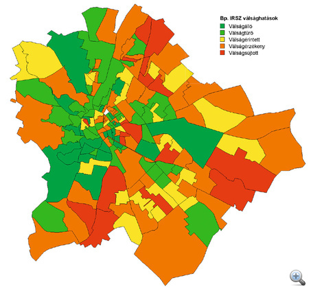budapest irányítószám térkép Index   Gazdaság   Józsefváros legyőzte a gazdasági válságot budapest irányítószám térkép