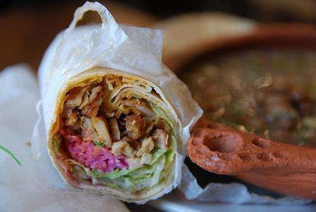 Csirke Shawarma Ausztráliában