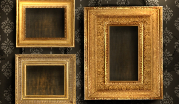 stockfresh id214548 three-gilded-frames-on-antique-wallpaper siz