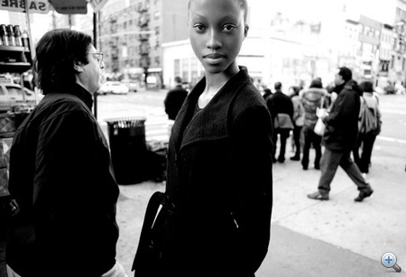 Nyasha Matonhodze (Kép: Elite Model)