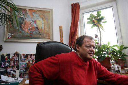 Binder Károly, a Zeneakadémia dzsessztanszakának vezetője