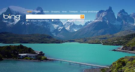 A Bing.de magyarul