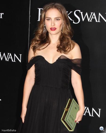 Natalie Portman tavaly novemberben a Fekete hattyú egyik bemutatóján