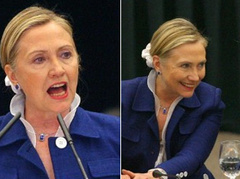 Hillary Clinton még mindig hisz a takarítónős hajgumiban
