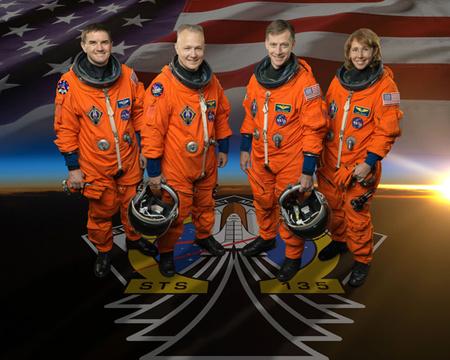 ATLANTIS-STS135-CREW
