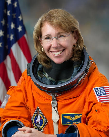 Sandra Magnus (Fotó: Bill Stafford, NASA)