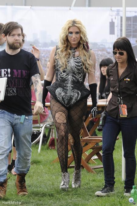 Kesha a Wireless fesztiválon