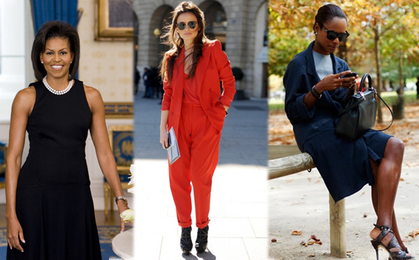 Mrs. Obama, a norvég divatblogger és a mindig elegáns  Shala Monroque