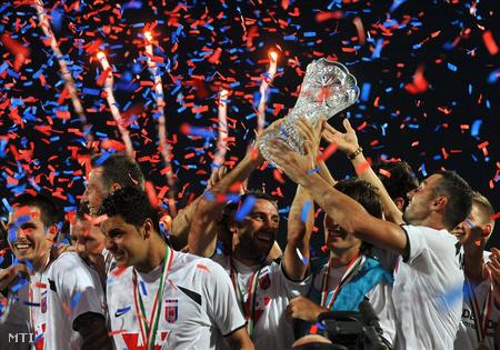 A Szuperkupa nyertes Videoton FC  (Fotó: Kovács Tamás)