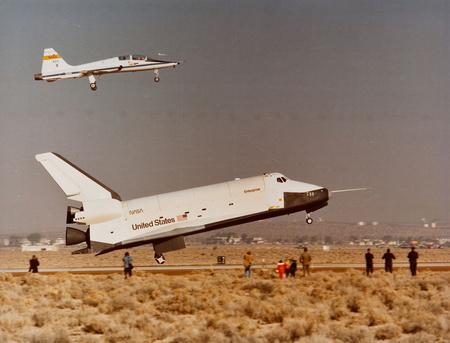 Az Enterprise (Fotó: NASA)