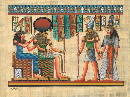 horus nefertari thot