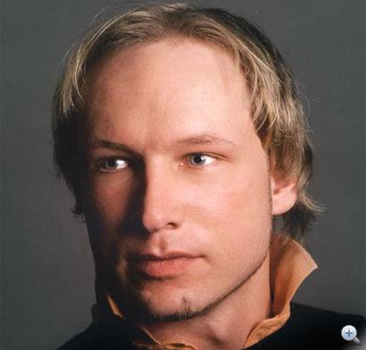 Anders Behring Breivik a feltételezett elkövető fotója