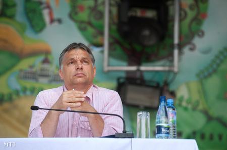 Orbán Viktor Tusnádfürdőn