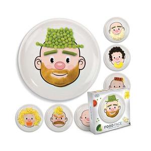 Móka az evés: a Mr. Food Face tányér