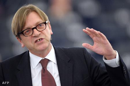 Guy Verhofstadt, az ALDE vezetője a 2011-es EU költségvetésről beszél