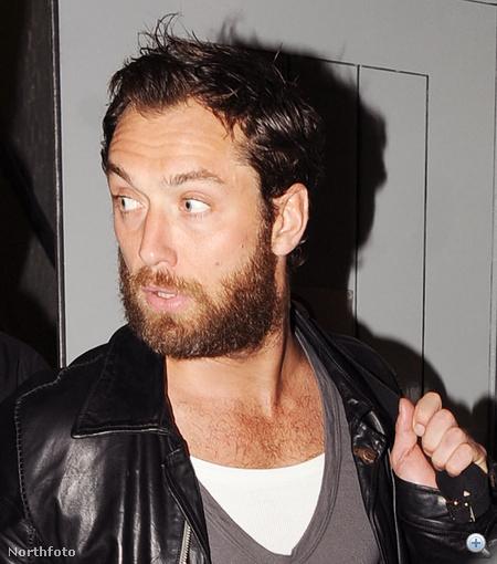 2011. augusztus közepe: Jude Law tekintélyes szakállal