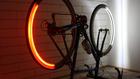Balesetmegelőzés  360 fokban látható biciklilámpával