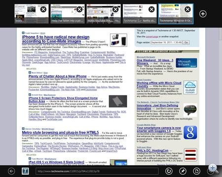 Még egy klikk, és belépünk az újfajta Internet Explorerbe.