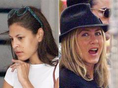 Jennifer Aniston és Eva Mendes sem felismerhetetlen smink nélkül