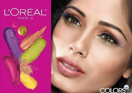 Freida Pinto legújabb L'Oreal kampánya. Szép a szeme, de a bőrével minden rendben?