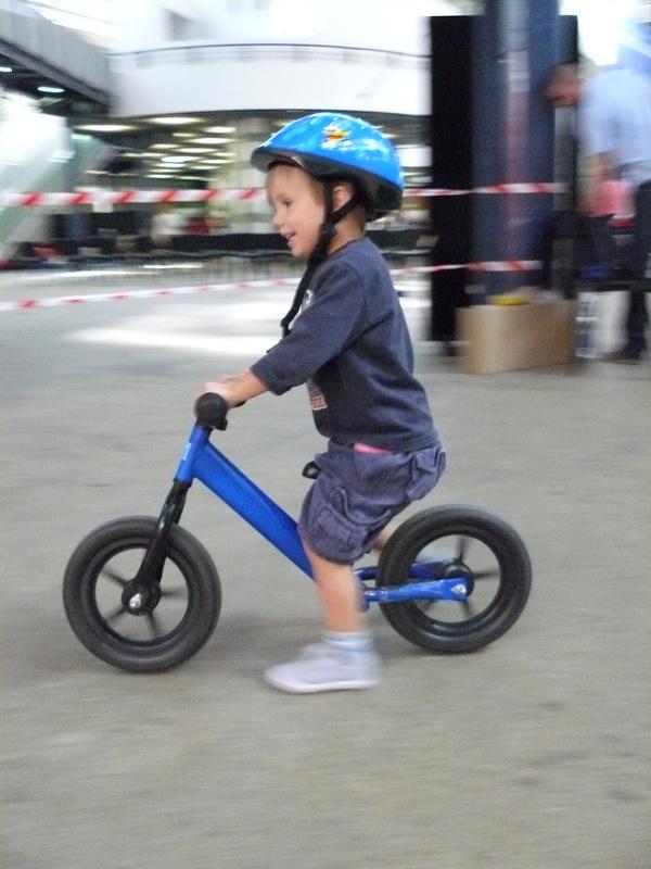 Népszerű volt a bicikli