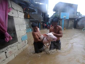 Tájfun csapott le a Fülöp-szigetekre